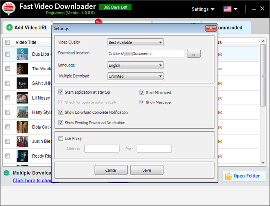 Fast Video Downloader - Search Video > Copy Link ...  Fast Video Down...